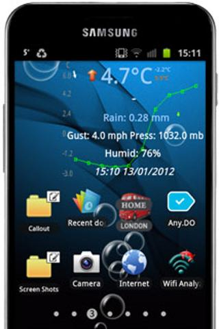 Weather Watch Widget - screenshot