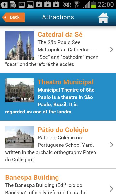 Sao Paulo City Guide & Hotels - screenshot