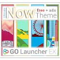Now GO Launcher EX Theme logo
