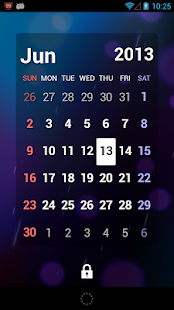 S2 Calendar Widget - Full - screenshot thumbnail
