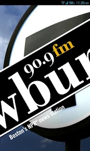 WBUR - screenshot thumbnail