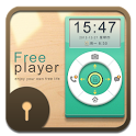 D-Free player GO Locker Theme icon