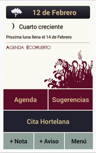 Agenda EcoHuerto