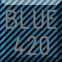 HD BLUE420 APEX/NOVA/ADW EX icon