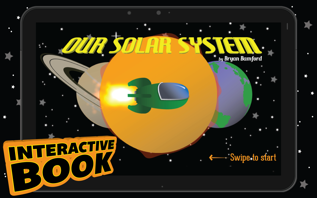 Our Solar System - Kids Book- screenshot