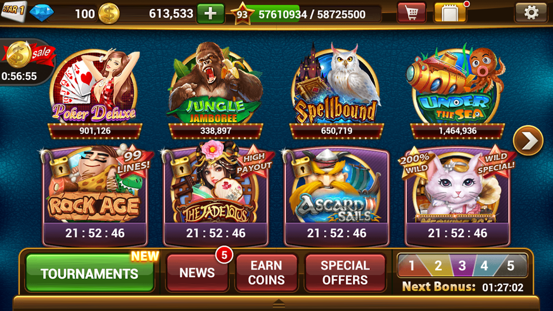 Slot Machines by IGG screenshots