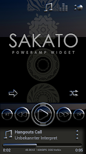 SAKATO Poweramp skin v3.02