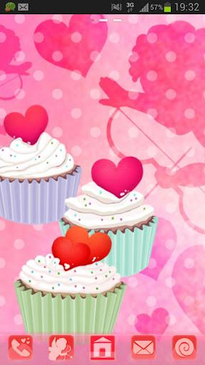 GO Launcher Theme cupcake Buy