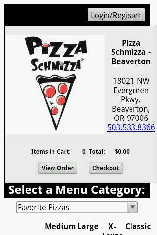 Pizza Schmizza - screenshot