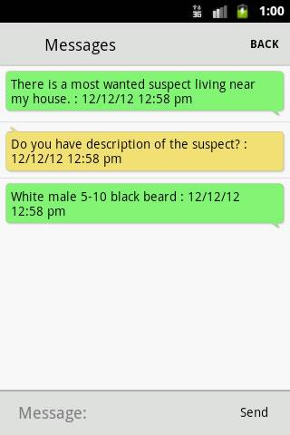 Coppell PD- screenshot