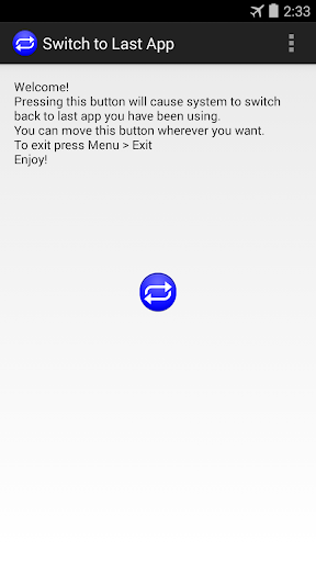Switch to Last App
