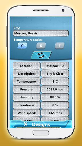 数字时钟天气小工具