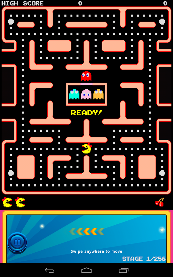 Ms. PAC-MAN Demo by Namco- screenshot