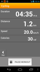 VirtuaGym Cardio GPS - screenshot thumbnail