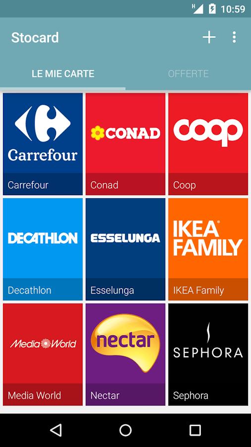 Stocard - Carte Fedeltà - screenshot