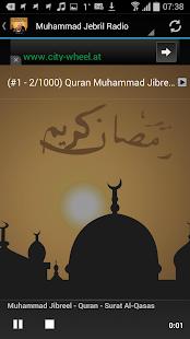 MP3 Quran Muhammad Jebril - náhled