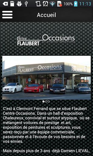 Flaubert Centre Occasions