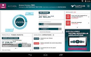 Screenshot of Mon Epargne Salariale