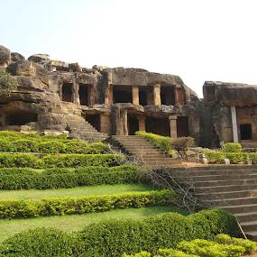 Cave of Udaigiri by Priyanka Barua - Nature Up Close Other Natural Objects ( nature, udaigiri, caves, garden, odisha )