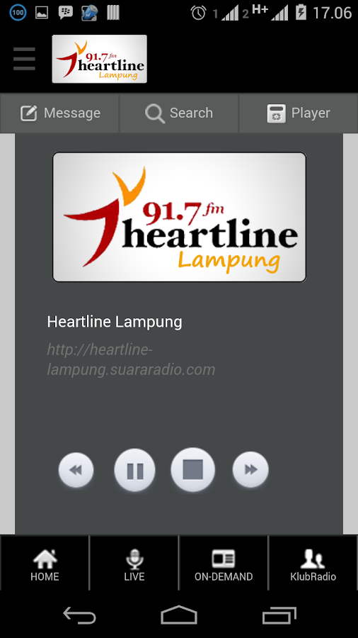 Heartline Lampung- screenshot