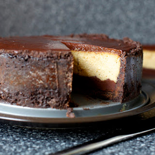 Chocolate Peanut Butter Cheesecake.