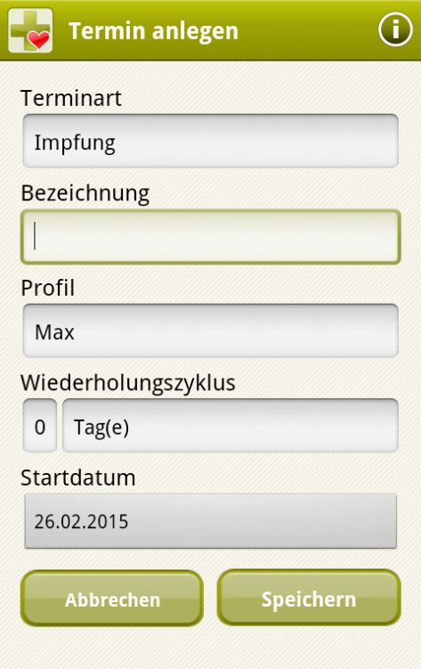 APPzumARZT - screenshot