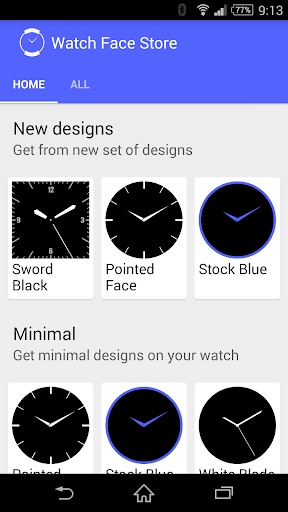 Watch Face Store -Android Wear