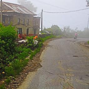 village higway by Raj Tandukar - Landscapes Mountains & Hills