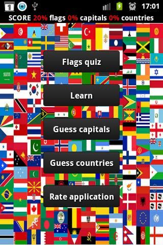 World capitals logo quiz - screenshot