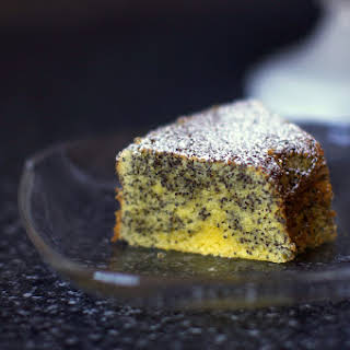 Poppy Seed Lemon Cake.