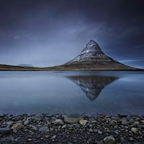 Kirkjufell Mountain  by Fokion Zissiadis - Landscapes Mountains & Hills ( landscape kirkjufell iceland,  )