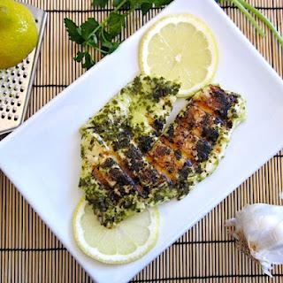 Quick Lemon Garlic Fish.