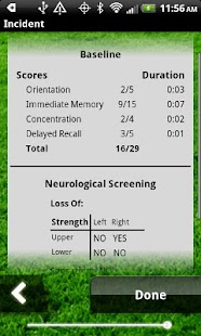 Concussion Assessment&Response- screenshot thumbnail