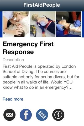 Emergency First Response- screenshot