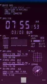 Device Info Ex Live Wallpaper Screenshot 8