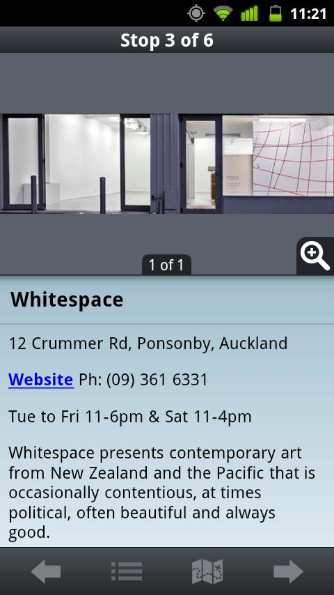 Art in Auckland - screenshot
