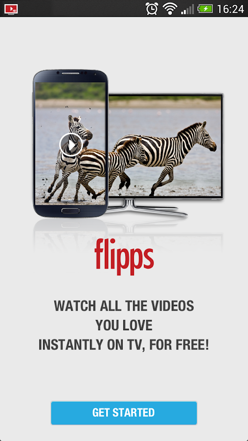Flipps HD (Former iMediaShare) - screenshot