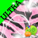 Ultra Cute Pink Tiger Theme icon