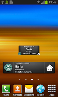 Coritiba Widget - screenshot thumbnail