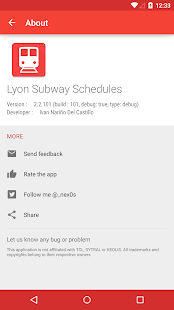 Lyon Transport Live Schedules- screenshot thumbnail