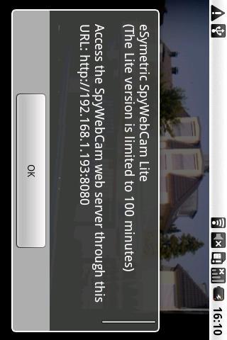 eSymetric SpyWebCam Pro- screenshot