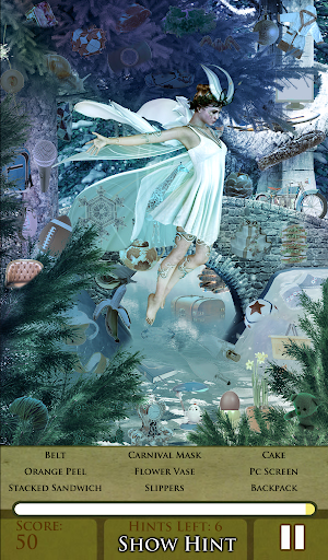 Hidden Object - Snow Fairies