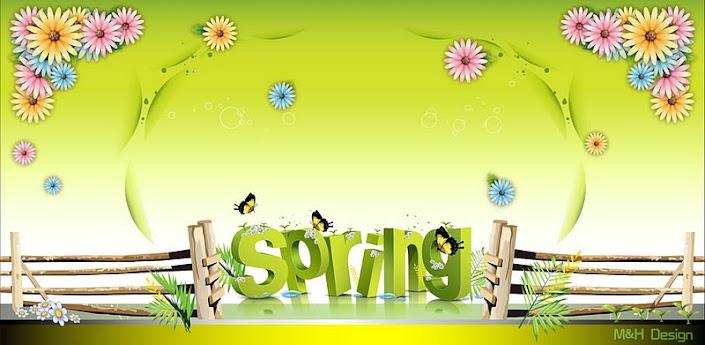 My Spring GO Launcher EX v1.1