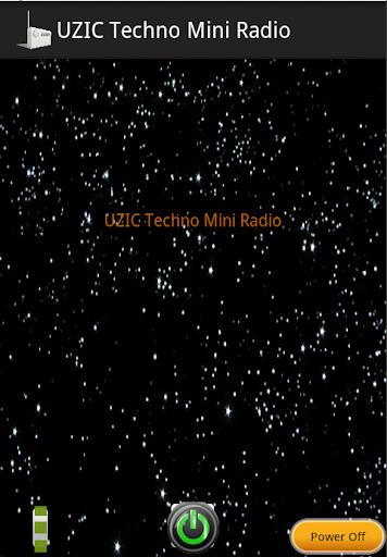 UZIC Techno Mini Radio