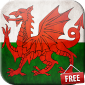 Flag of Wales Live Wallpaper