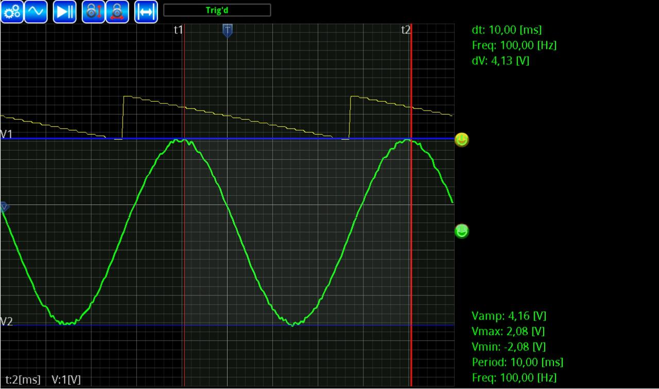 AR-Oscilloscope- screenshot