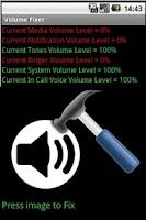 Screenshot of Volume Fixer