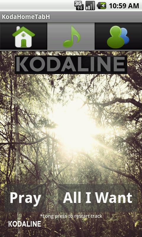 Kodaline- screenshot