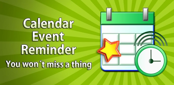 Calendar Reminder Wallpaper : Calendar event reminder cer android apps on google play