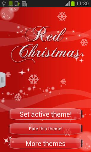 聖誕鍵盤紅色為GO